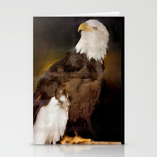 American Eagle Stationery Card