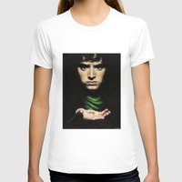 lord of the rings T-shirts featuring Frodo - Lord of the Rings by Hilary Rodzik