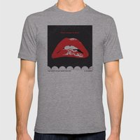 No153 My The Rocky Horror Picture Show minimal movie poster Mens Fitted Tee Athletic Grey SMALL