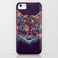 Space Cat iPhone 5c Slim Case