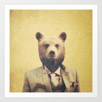Humanimal: Bear Art Print