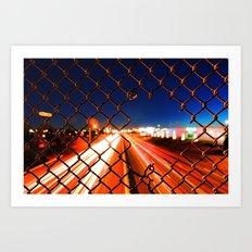 Speed of Life Art Print