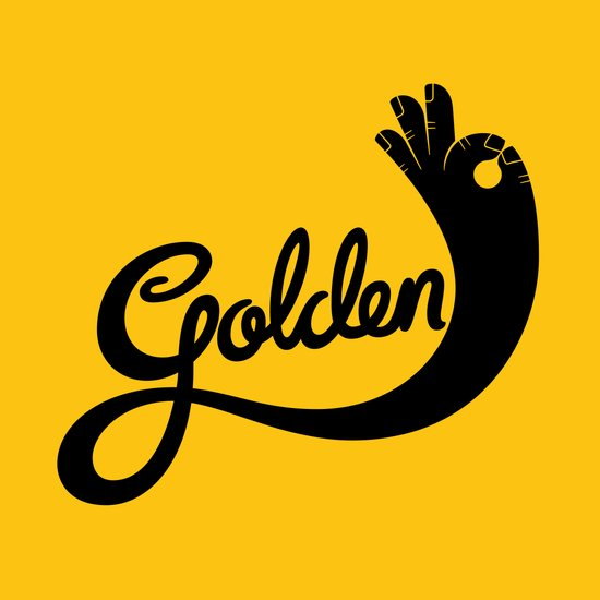 Golden! Art Print