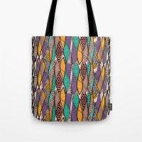 Mikeno Pattern Tote Bag