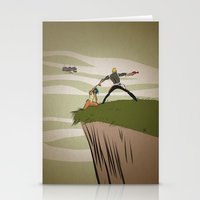 A Daring Escape Stationery Cards