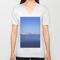 Mt Rose and Slide Mt Unisex V-Neck