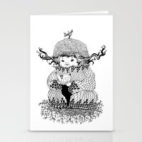 Hermit Stationery Cards
