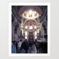 St. Peter's Church (Aust… Art Print