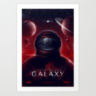 Art Print featuring Super Mario Galaxy by Ian Wilding
