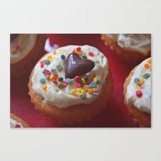 cupcakelove Canvas Print