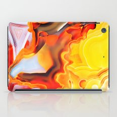 Earth's Fantasy, from the Lithosphere emerges Beauty - Agate iPad Case