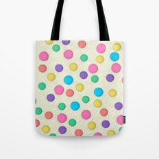 Polka Dots Wallpaper Background Tote Bag