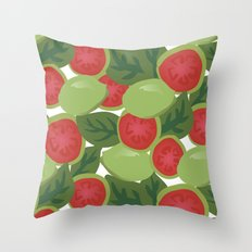 Guava Throw Pillow