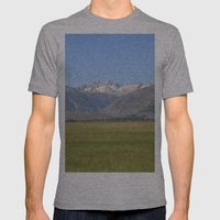 Sawtooth  Mens Fitted Tee Athletic Grey SMALL