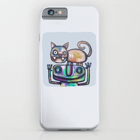 Juggler with Cat iPhone & iPod Case
