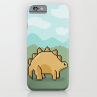 iPhone & iPod Case featuring Pixel Dino! by designbyash