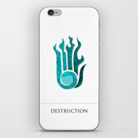 destruction iPhone & iPod Skin