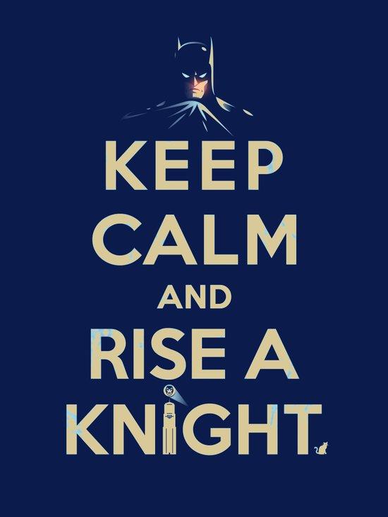 Keep Calm: Knight Art Print