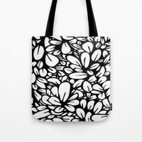 Crazy Flowers Tote Bag
