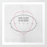 Total Ellipse of the Heart Art Print