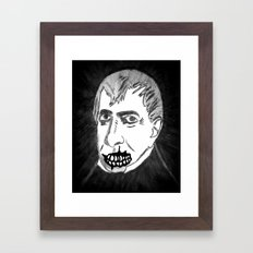 09. Zombie William Harrison  Framed Art Print