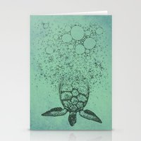 Into_The_Sea Stationery Cards