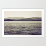 Art Print featuring Vintage Lake by Jessica Torres Photo…