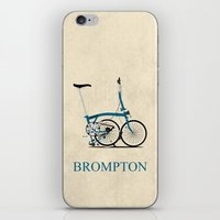 Brompton Bike iPhone & iPod Skin