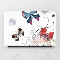 Butterfly Spring iPad Case
