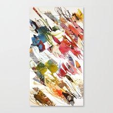 comic letter 1 Canvas Print