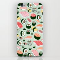 iPhone & iPod Skin featuring Sushi Love by Kristin Nohe