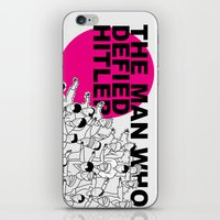 The Man Who Defied Hitle… iPhone & iPod Skin