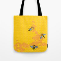 HoneyBees 1 Tote Bag