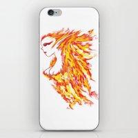 Firebeauty iPhone & iPod Skin