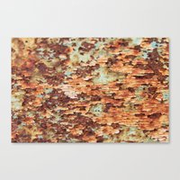 Colorful Grunge Abstract… Canvas Print