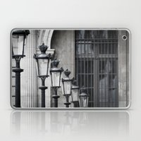 Parisian Streetlamps Laptop & iPad Skin