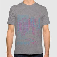 Interurban Mens Fitted Tee Tri-Grey SMALL