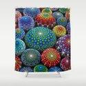Jewel Drop Mandala Stone Collection #1 Shower Curtain