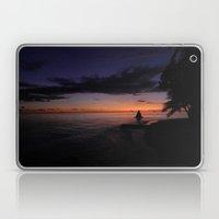 SUNSET IN MALDIVES Laptop & iPad Skin