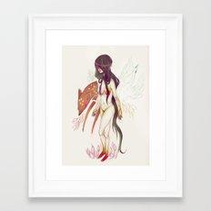 Naked Fingers Framed Art Print