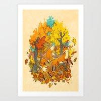 Autumn Eternal  Art Print