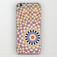 Vintage Textile YoYo Qui… iPhone & iPod Skin