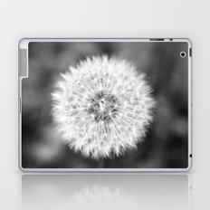 Black & White Dandelion Laptop & iPad Skin