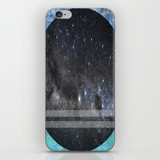 Blue Space iPhone & iPod Skin