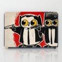 Owls Pulp Fiction iPad Case