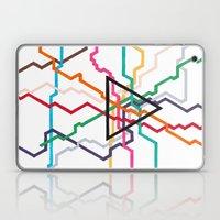Angular Subway Laptop & iPad Skin