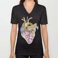My Heart Is Real Unisex V-Neck