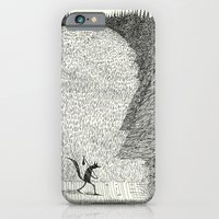 iPhone Cases featuring 'The Field By The Forest' by Alex G Griffiths