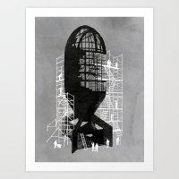 Bombshell Art Print