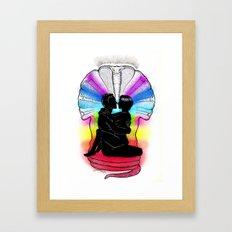SHAKTI KUNDALINI - the Sacred Sex Framed Art Print